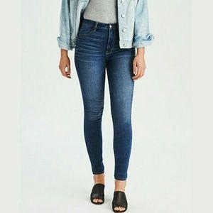 American Eagle Hi-Rise Jegging Jeans Stretch sz 4